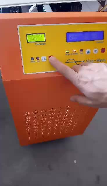अच्छी quality10KW 15KW 20KW 30KW तीन चरण बंद ग्रिड सौर पलटनेवाला Mppt के साथ चीन में किए गए
