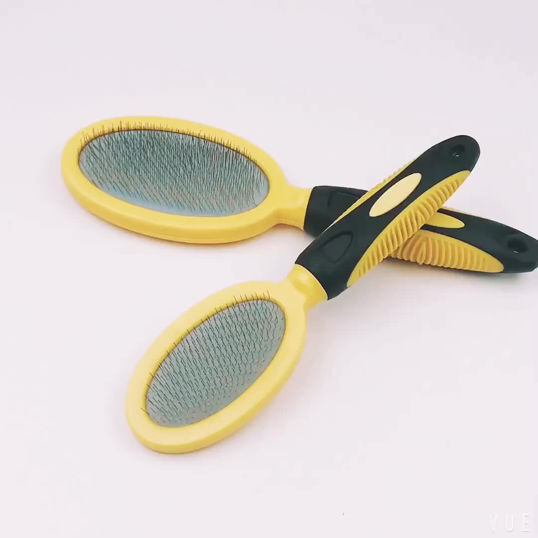 Small Size Pet Grooming Tool Slicker Brush For Dog