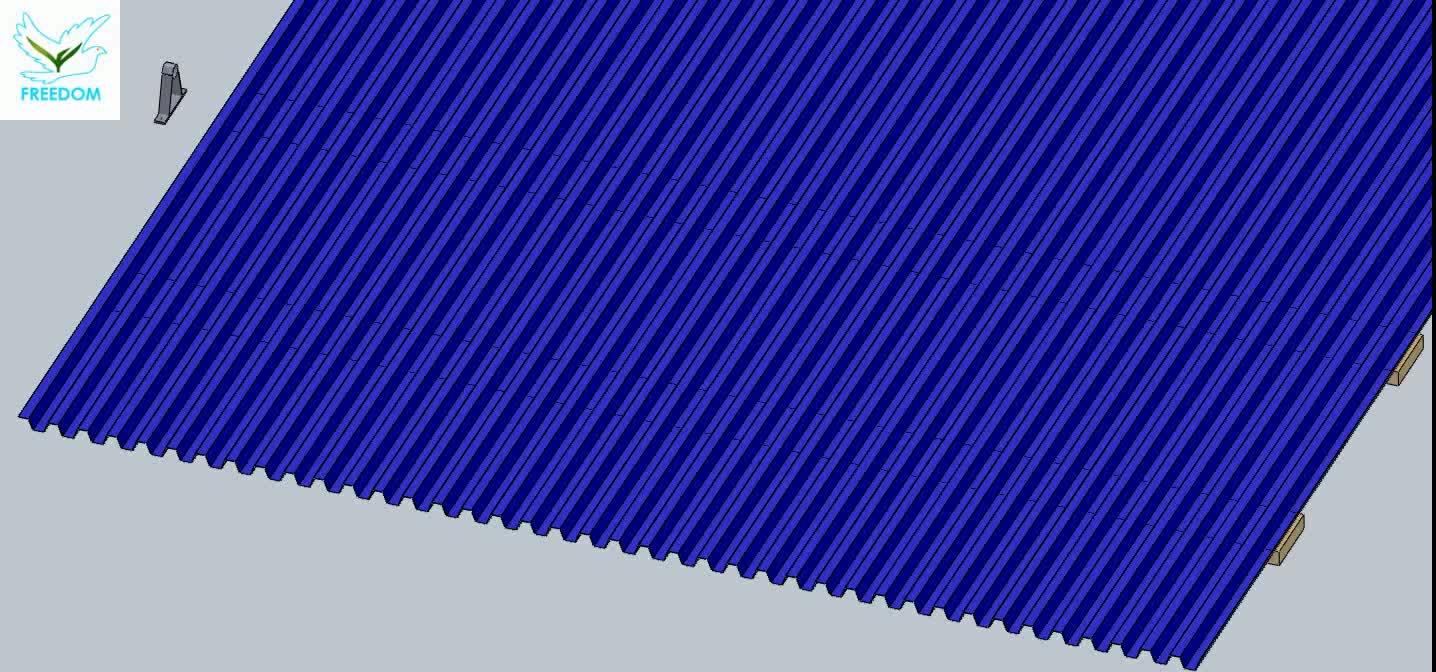 앵글 플랫 Pv 지붕 조절 태양 패널 프로젝트 에너지 브래킷 벽돌쌓기 시스템
