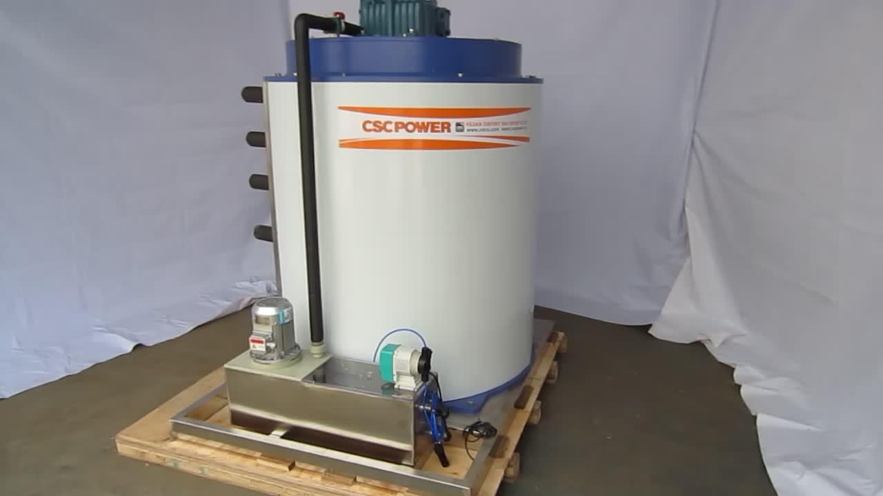 1T 2T 5T 10T 30T Flake Ice Maker Evaporator Ice Generator ice drum