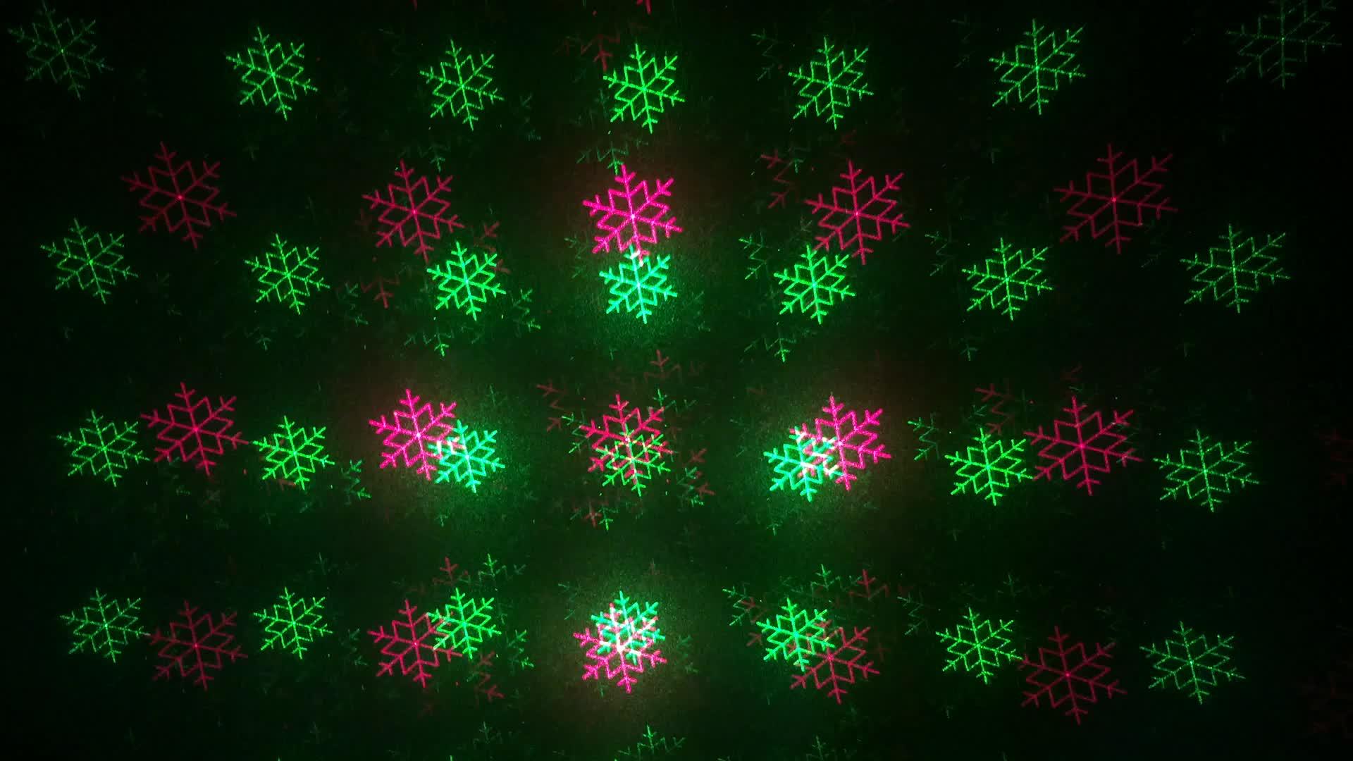 Outdoor Christmas Tree Laser Light