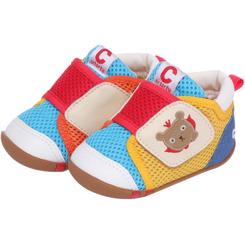 卡特兔软底春季男女儿童网鞋机能鞋好用吗