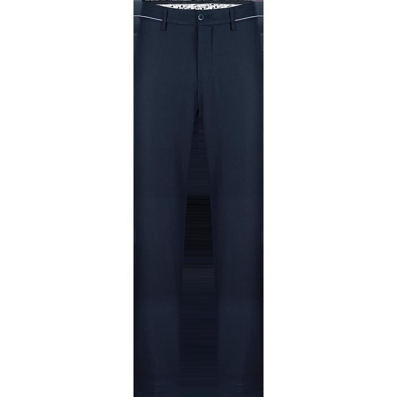 柒牌男装休闲裤直筒裤薄款微弹长裤