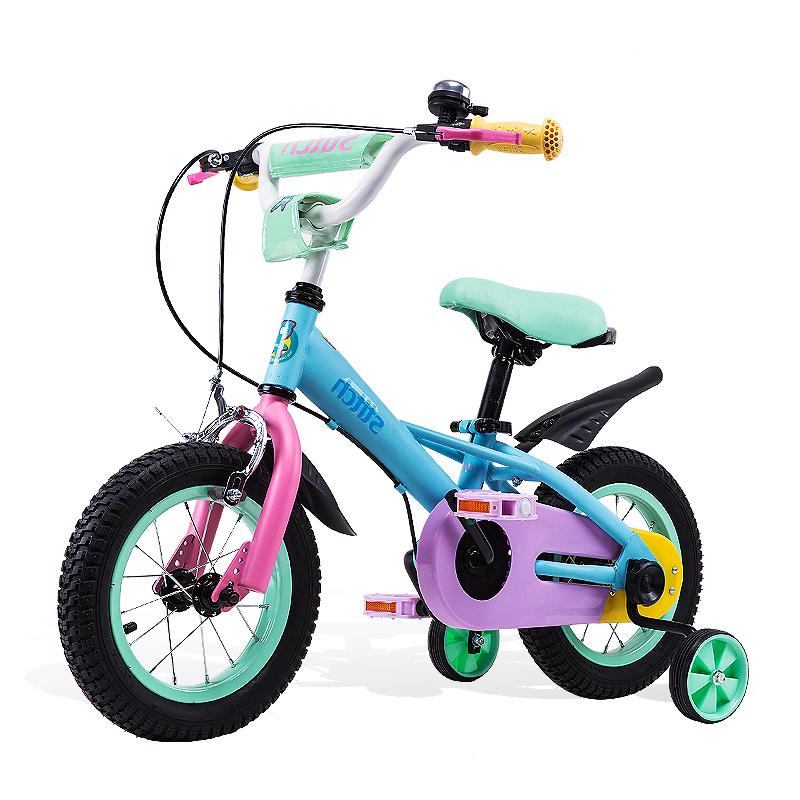 祺娃娃儿童女童中大童3岁自行车质量可靠吗
