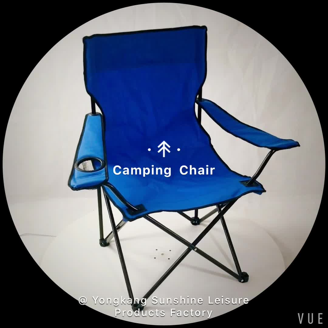High back different color materials folding camping chair for Different color chairs