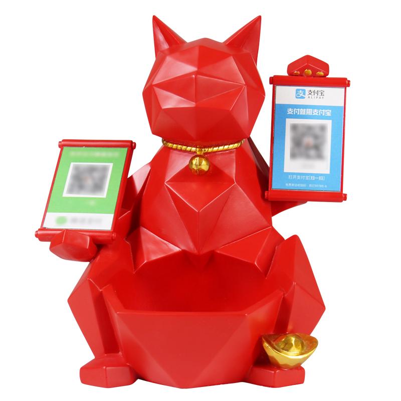 招财猫开业礼品实用大气小创意高档用后评测