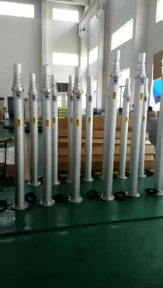16m 17m 18m 19m 20m Pneumatic Telescopic Antenna Mast