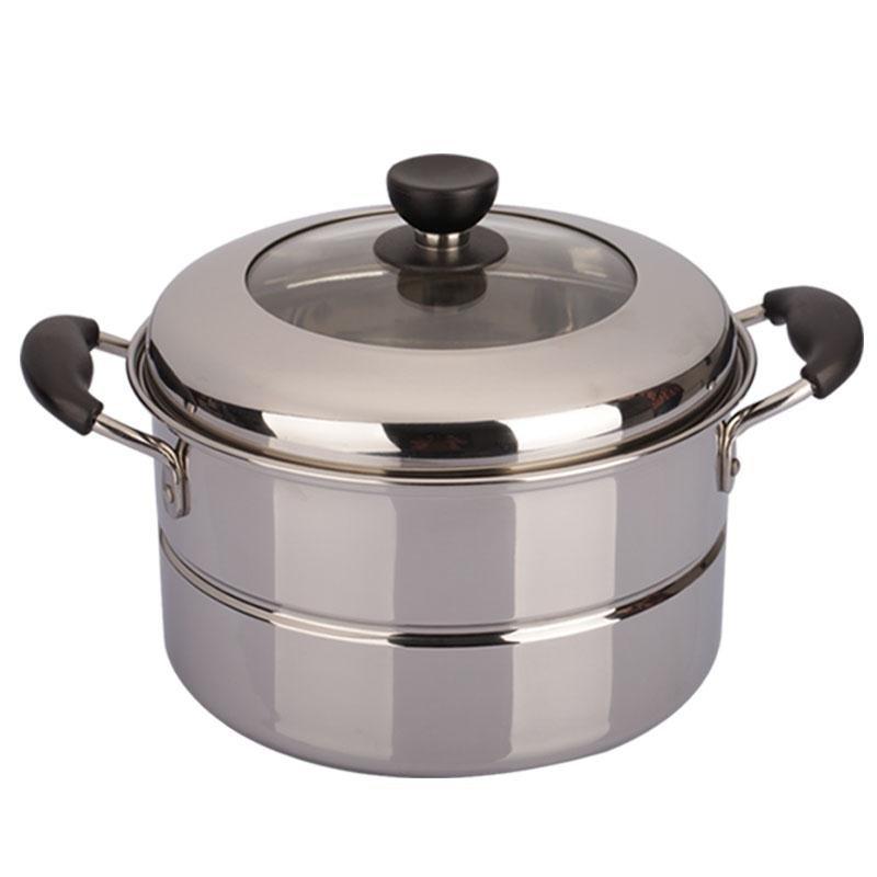 顺达26cm组合盖单层304不锈钢汤锅评价如何