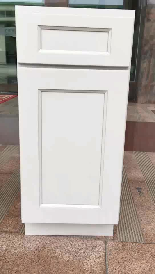Wholesale antique white solid wood kitchen cabinet buy for White solid wood kitchen cabinets