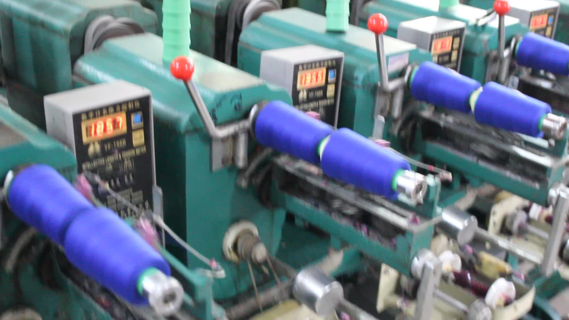 Ningbo vente en gros 100% polyester filé poly sac fil à coudre 60/3