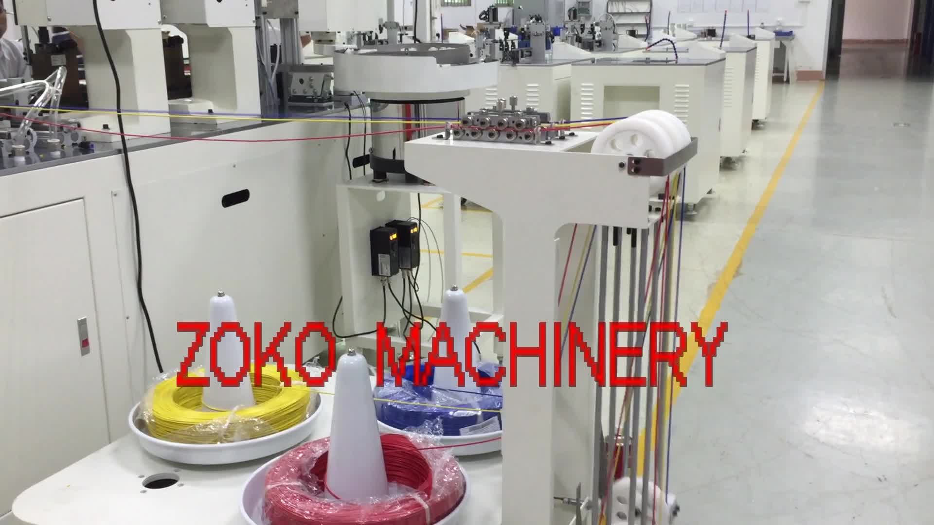 Automatic Wire Harness Connector Housing Assembly Machine Made In ...