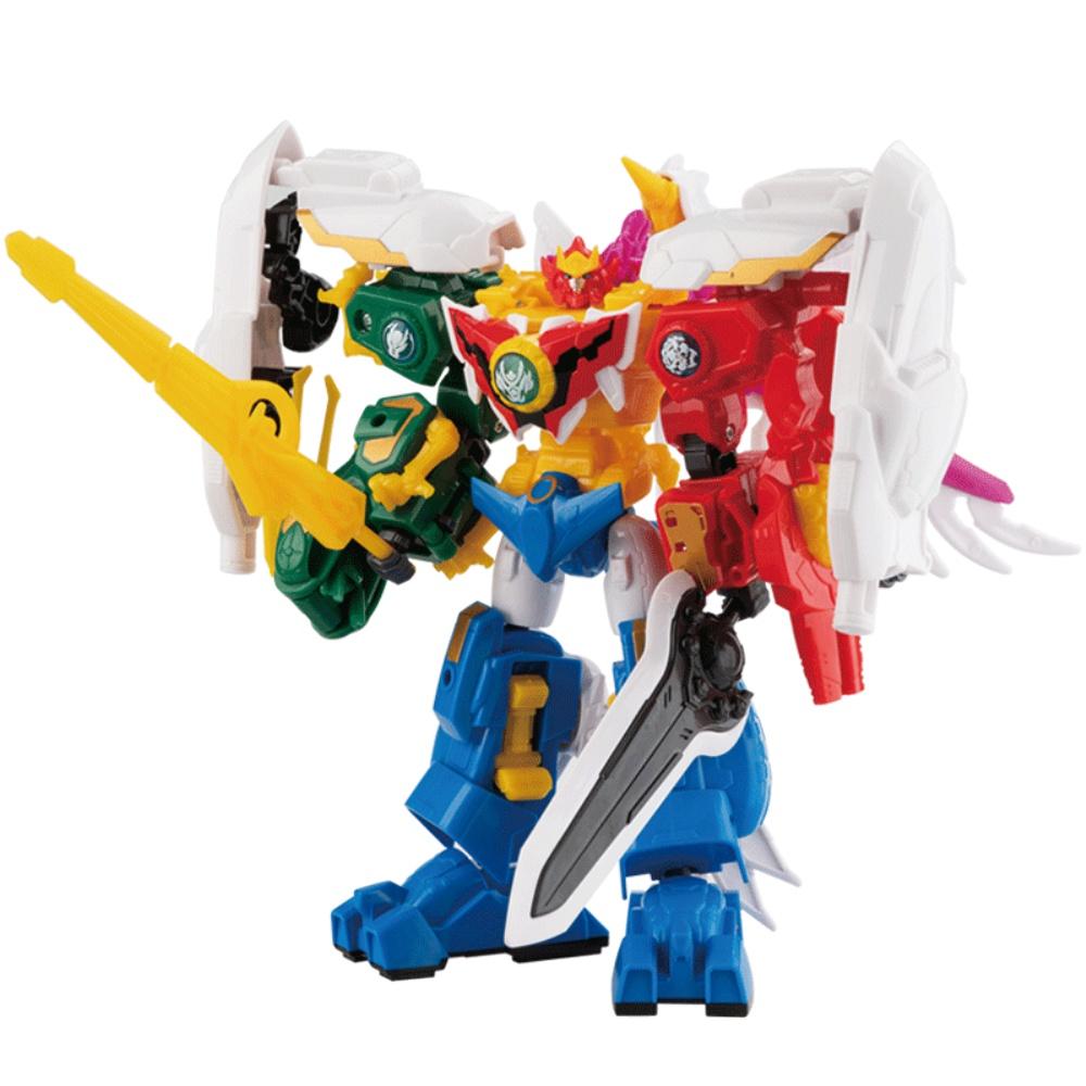 6合体变形机器人超变神兽金刚玩具怎么样