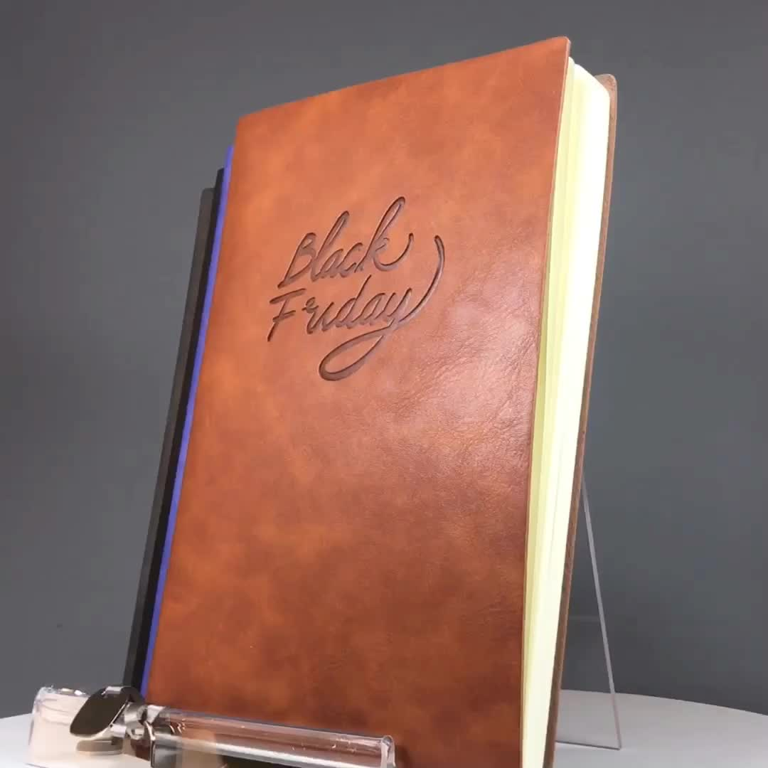 personal journal white exercise book from india leather bound