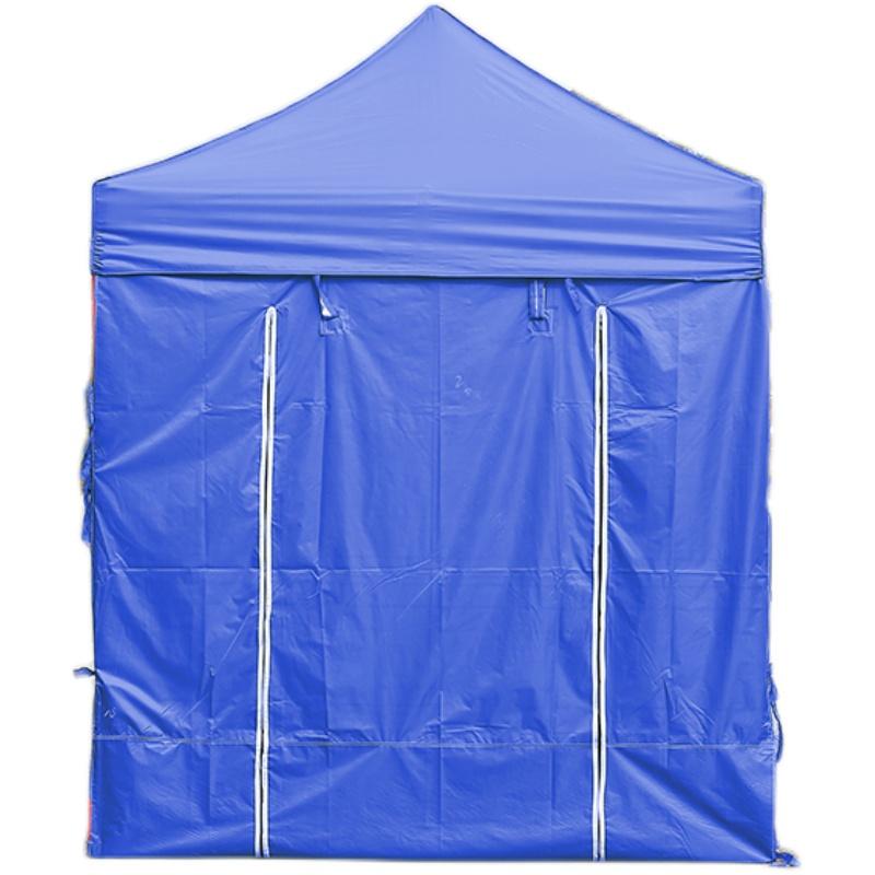 户外广告帐篷四角车棚四脚遮阳伞