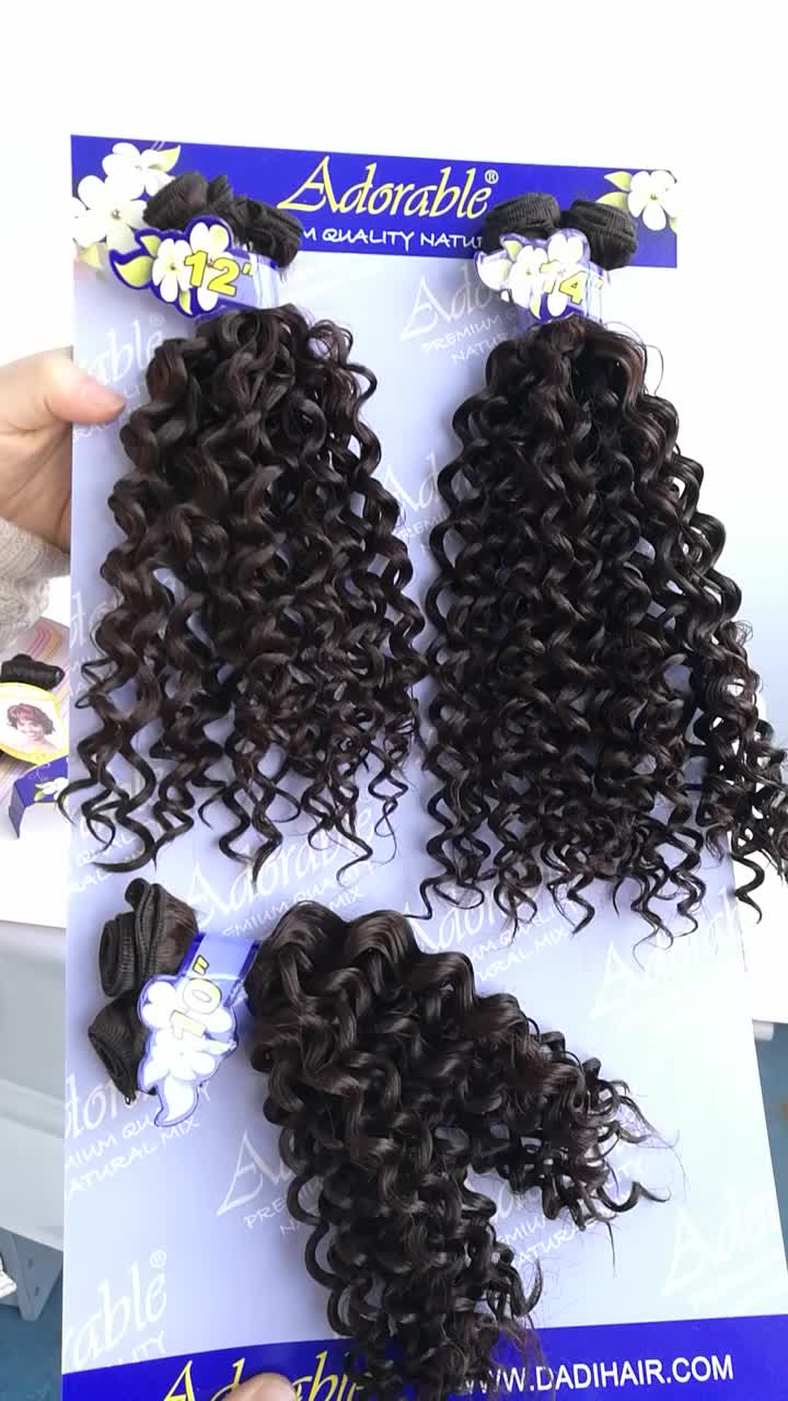 Best Quality Synthetic Hairremy Synthetic Hair Weave100 Natural
