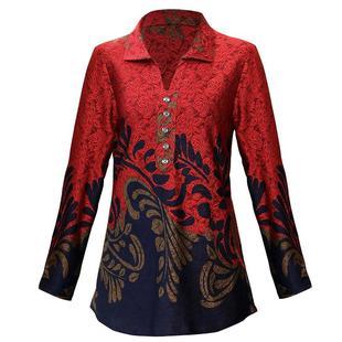 妈妈装春装衬衫女2021早春新款中年长袖中老年人女装上衣春秋套装