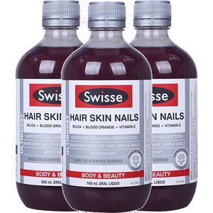 澳洲swisse胶原蛋白护发护肤口服液