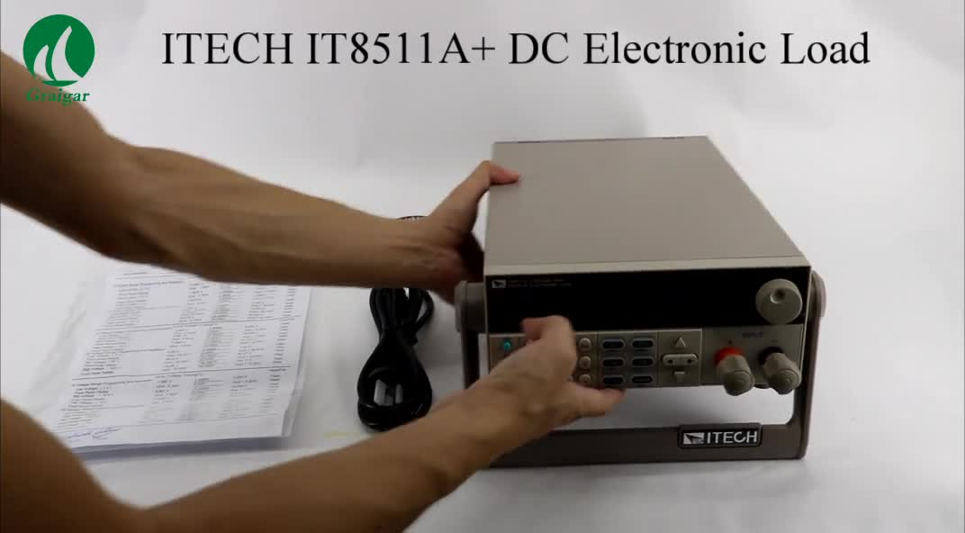 IT8511A+ Channel DC Electronic load Programmable 0-150V/ 1mA-30A/150W High Accuracy Resolution