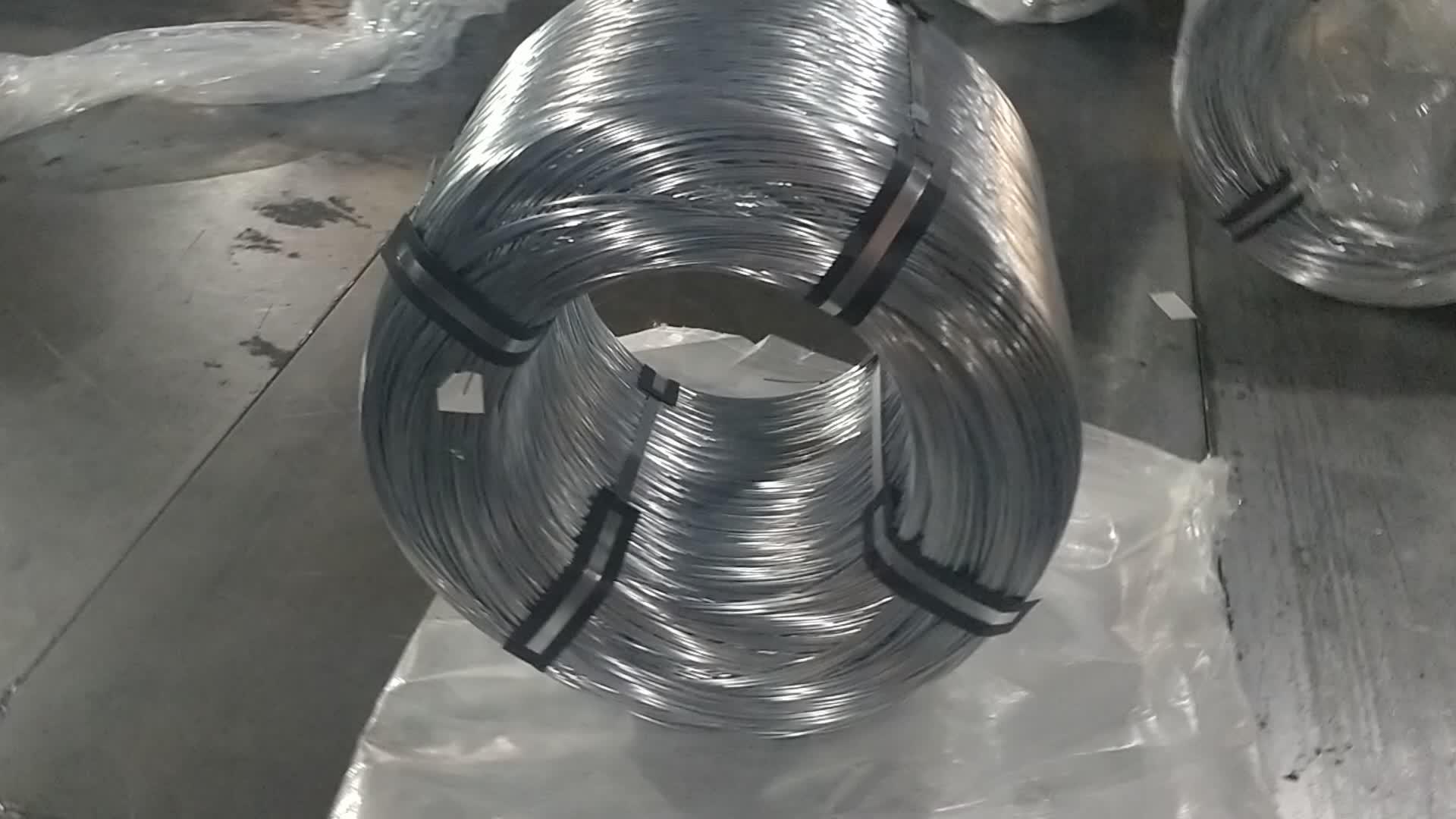 Thermisch Verzinkt Ijzerdraad Voor Nagel Maken van china Fabriek