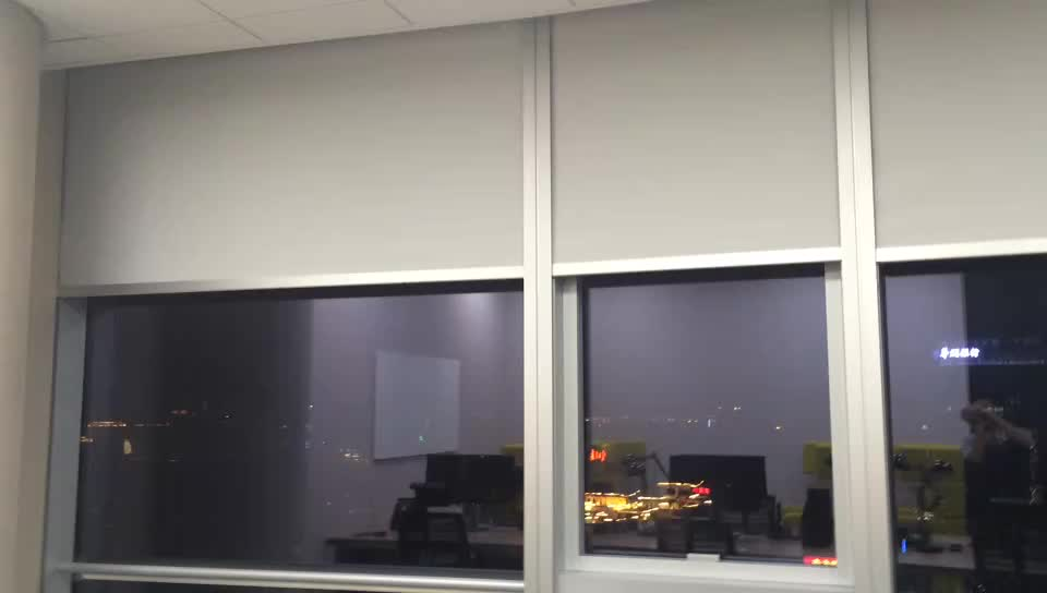 acceptable remote size wireless customized roller control motorized wifi product blinds with