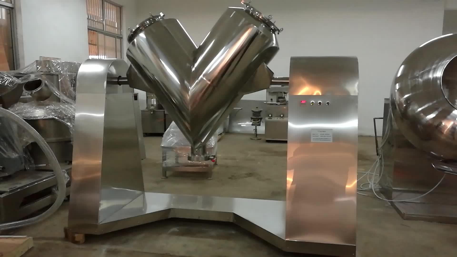 Equipamento químico profissional da máquina de mistura do pó da medicina erval do café