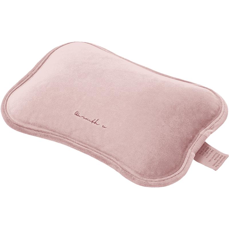 素乐热水袋充电式女暖手宝可爱毛绒防爆暖宝宝电热宝新款小暖水袋