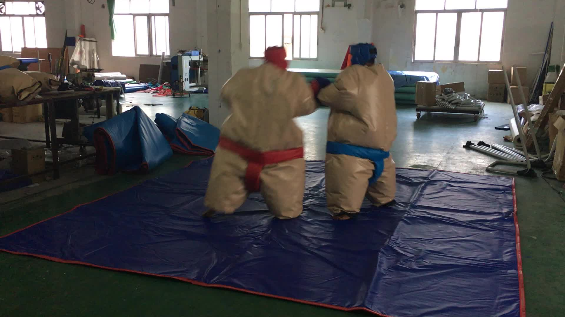2013 Funny&Hot-selling Inflatable adult sumo wrestling suits /inflatable sport game for sale
