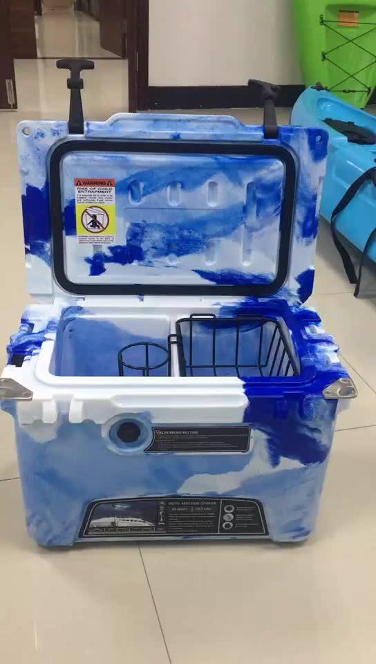 Kuer factory wholesale rotomolded coolers 10qt 20qt 35qt 45qt 60qt 75qt 110qt