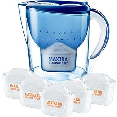 碧然德净水壶净水器M3.5L净水杯BRITA滤水壶 1壶6芯去水垢加强版