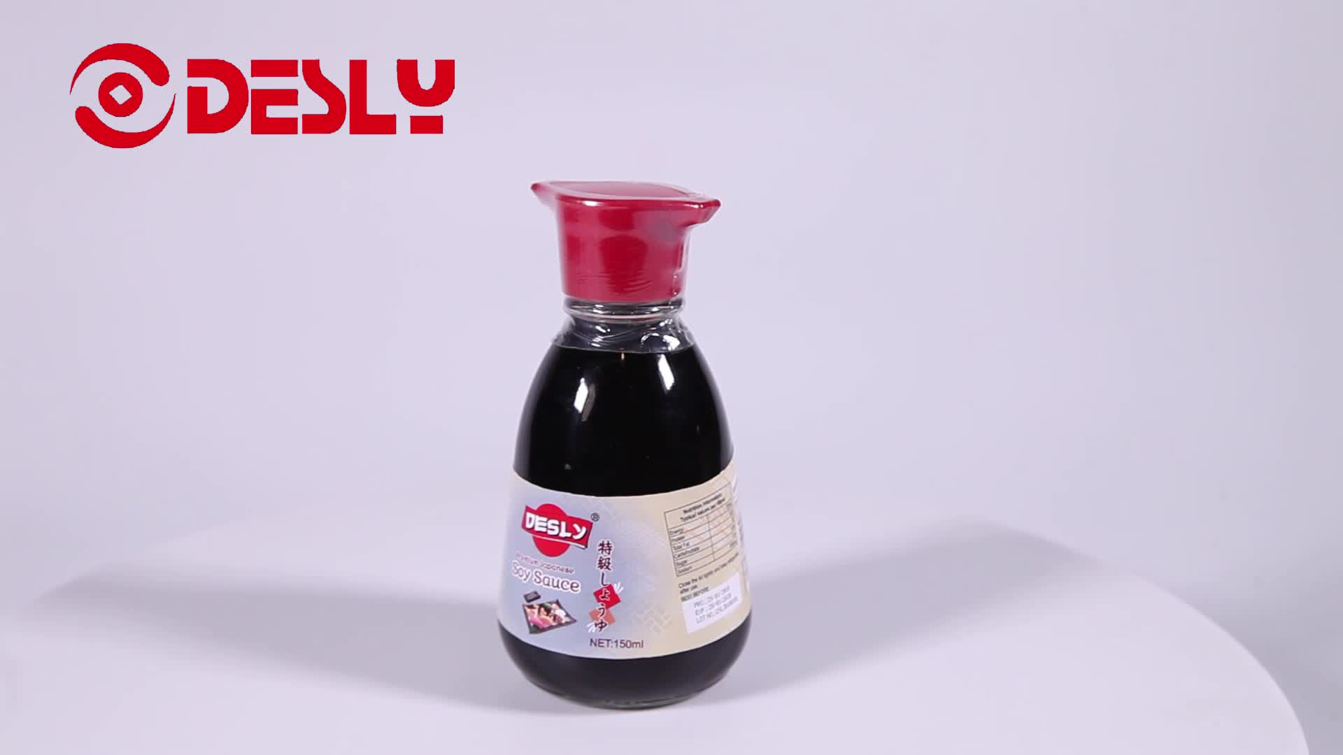250ml Sugar Free Japanese soy sauce for supermarkets