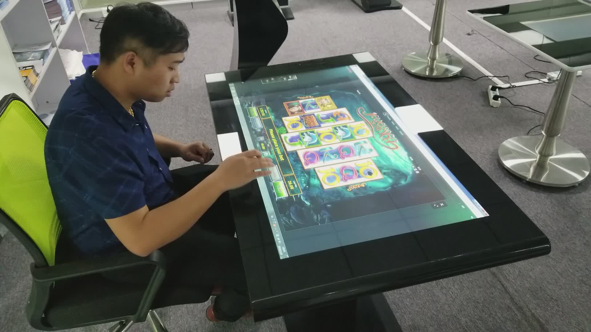 43 inch OEM multi smart touch screen koffie/game/restaurant tafel