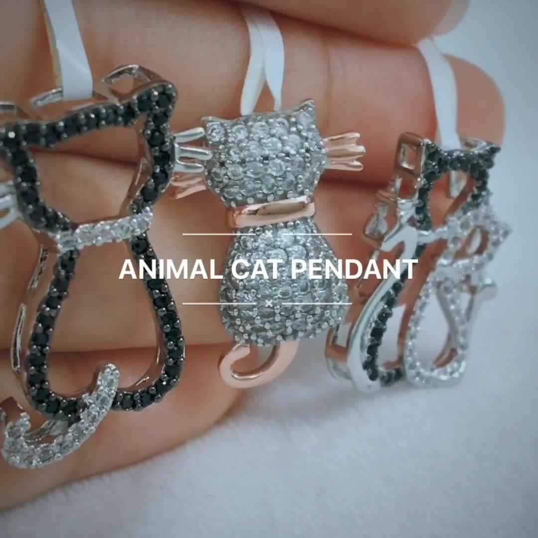 도매 개인 고양이 사용자 정의 펜던트 목걸이