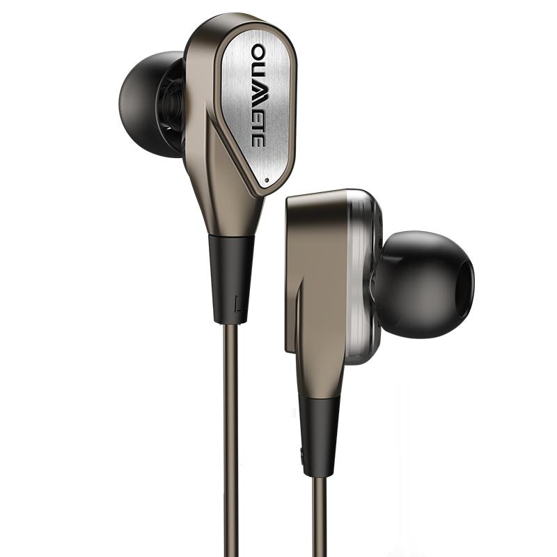 欧美特 X8手机耳机入耳式四核音乐有线重低音炮电脑游戏吃鸡苹果安卓降噪耳塞式hifi通用女生男线控带麦