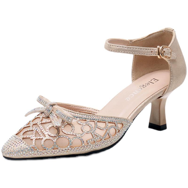 凉鞋2021新款百搭夏季仙女风高跟鞋质量如何?