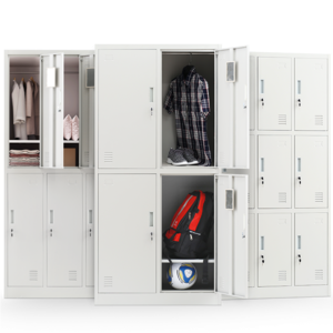 万度办公15门更衣柜钢制带锁铁皮柜