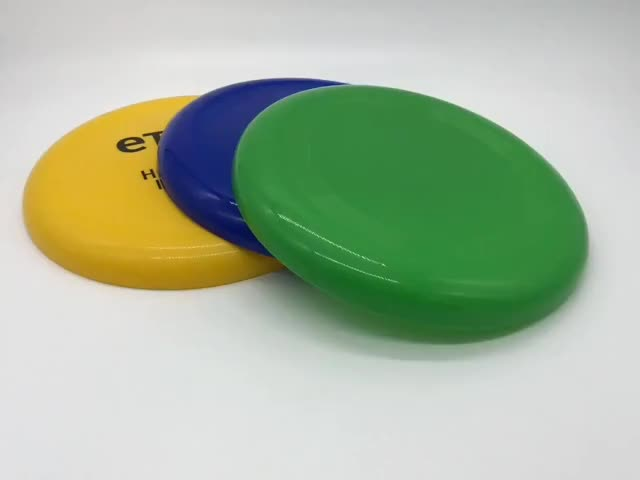Customized Color Plastic Frisbee Flying Disc