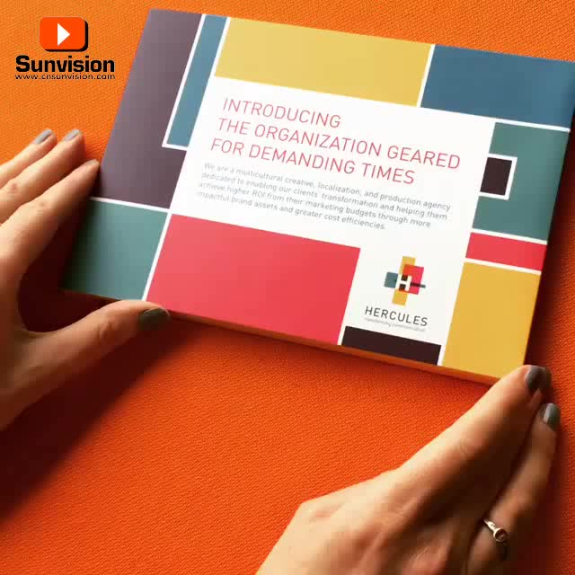 Customized Video Player Brochure 2.4/2.8/4.3/5/7/9/10inch LCD Screen Video Brochure Gift