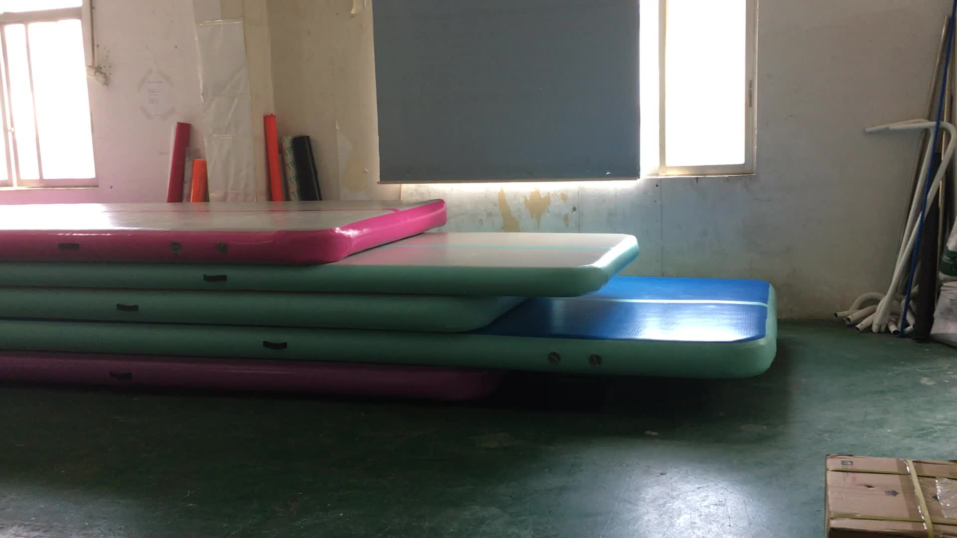 factory gym mat sale indoor gymnastics product track mats cheap inflatable price for air detail