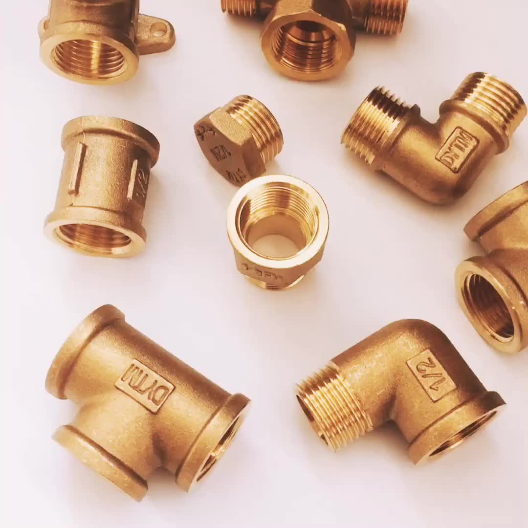 Brass male/female threaded union pipe fittings socket screw fitting