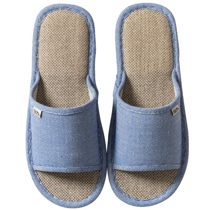 回力亚麻拖鞋女室内家用男式春天质量怎么样