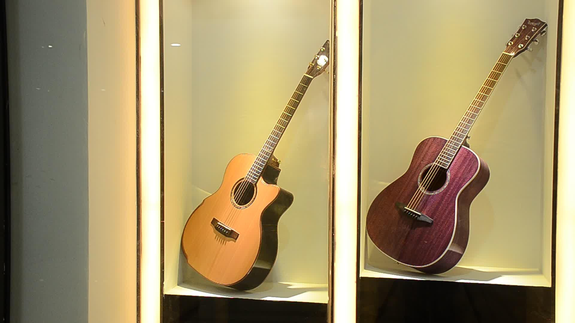 Quảng châu nhạc cụ acoustic electric guitar