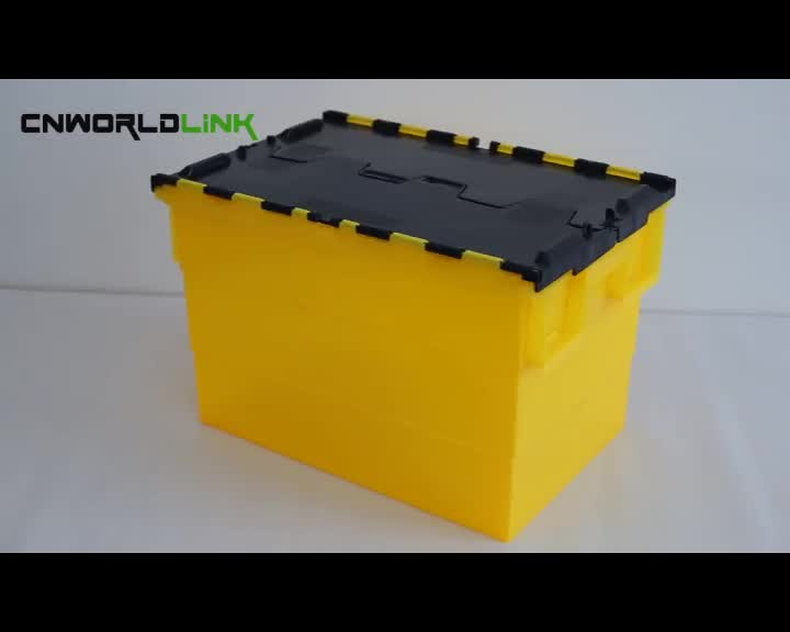 2016 New 70L Plastic Moving Standard Container