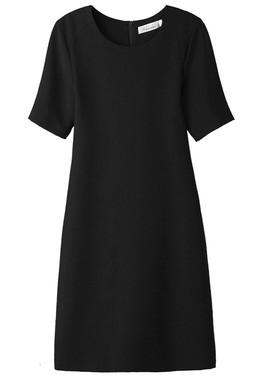 欧洲站2021夏季新款韩版女装大码气质中长款连衣裙女时尚直筒裙子