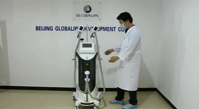 Strong cryo body slimming cold vacuum cavitation system
