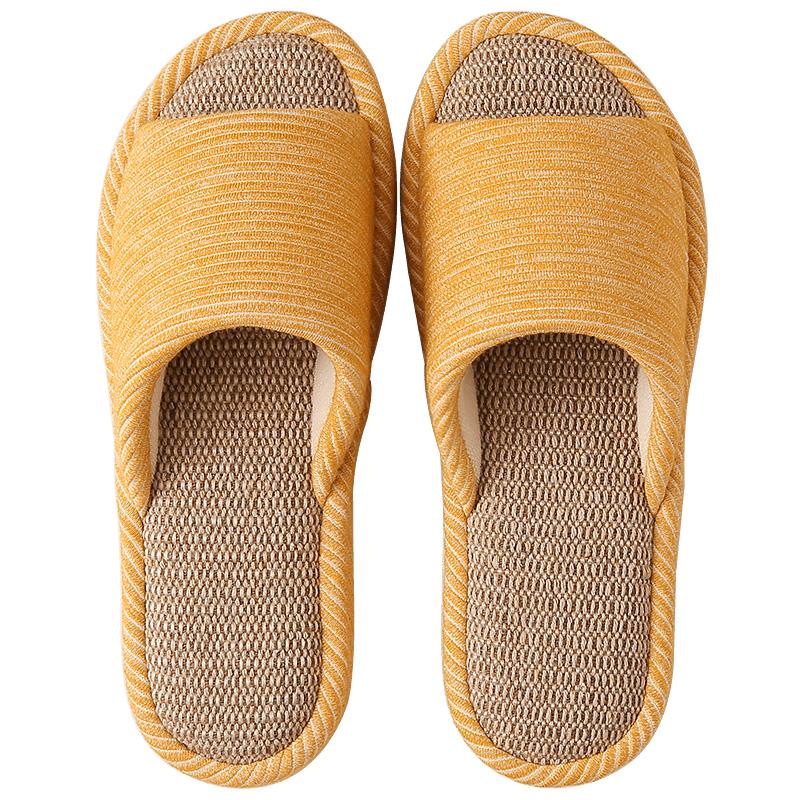 亚麻拖鞋女夏天情侣室内家用软底怎么样