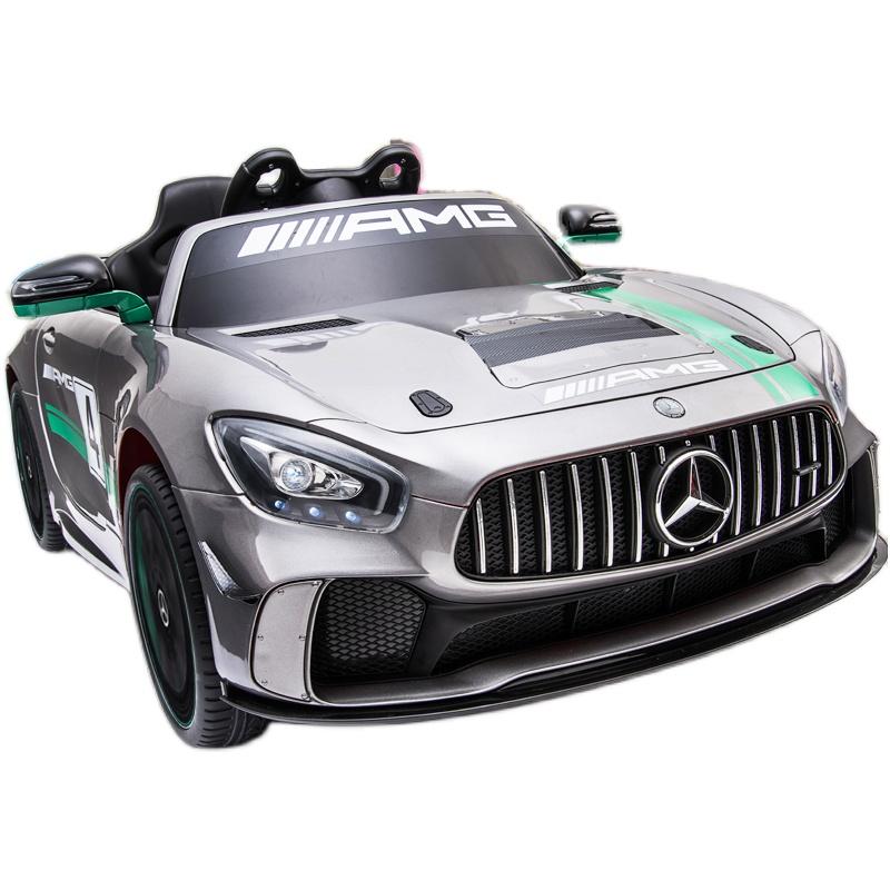 奔驰四轮遥控玩具车可坐小孩电动车质量靠谱吗