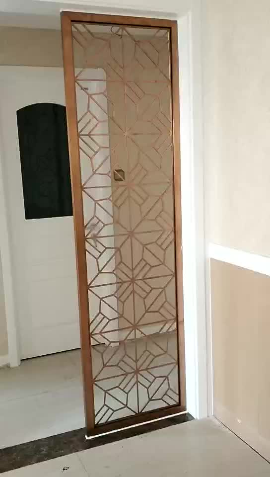 2 Panel Fancy Room Divider For Home Use