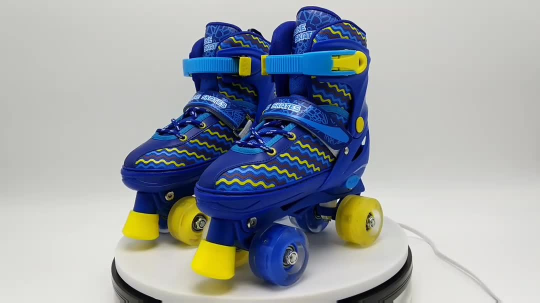 light up shoes for kids with wheels 4 wheels adjustable inline skates light up shoes