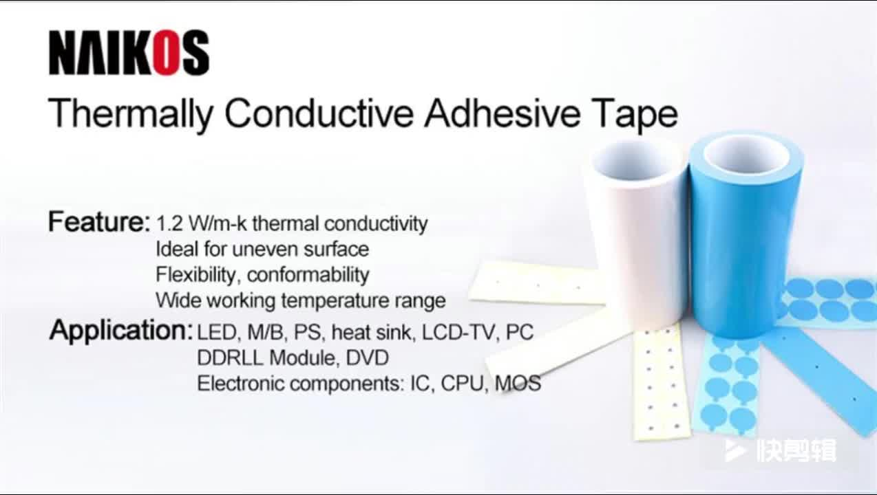 Colorful thermal conductive silicone soft pad for IC component