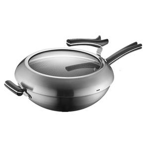 领【3元券】购买苏泊尔x晶盾316l不锈钢复合钢炒锅
